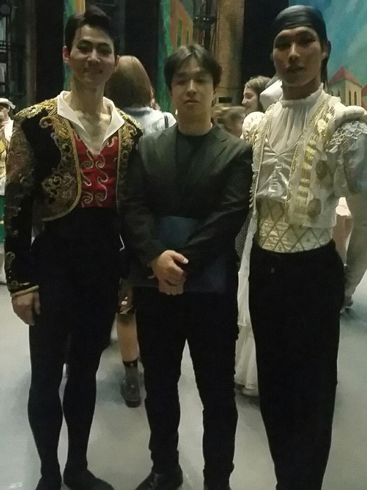 バレエ団の方たち