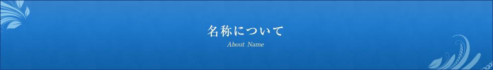 名称について